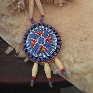 Jewelry - Necklace, beaded Native American style